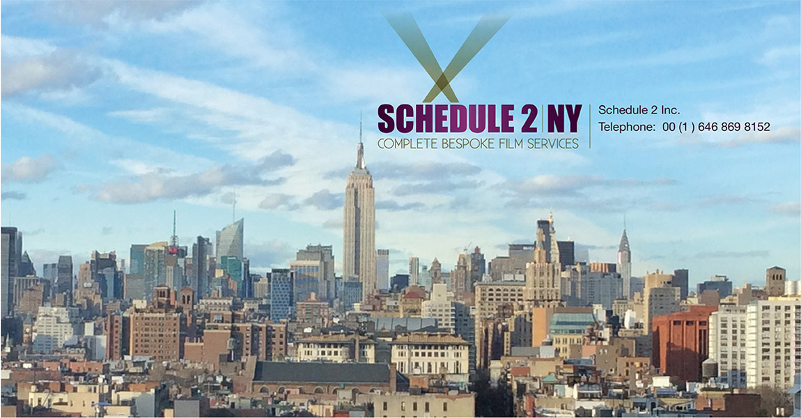 Schedule 2 Inc New York Office - Phone number only